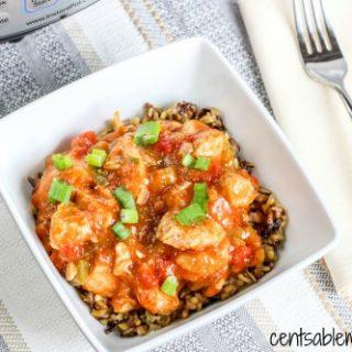Instant Pot Creole Chicken Recipe
