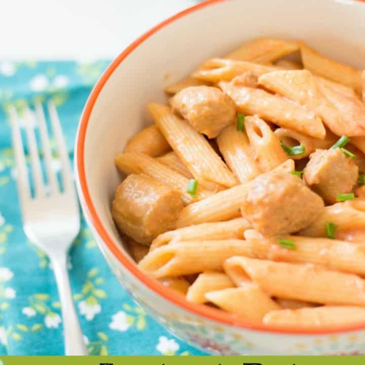 Rose Penne Pasta Recipe with Sausage