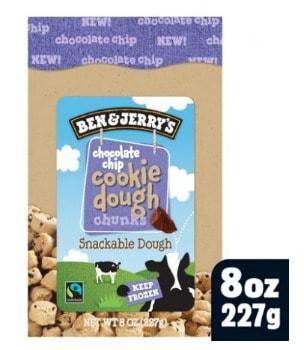 Printable Coupon: $1.50 off Ben & Jerry's Cookie Dough Chunks + Walmart Deal