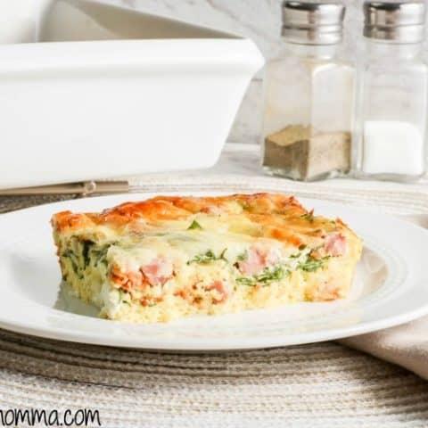 Green Eggs and Ham Breakfast Casserole Recipe