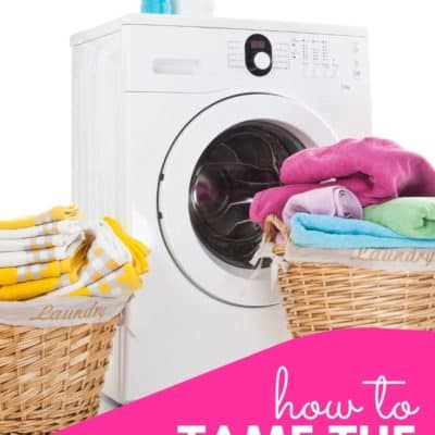 How to Tame the Laundry Pile
