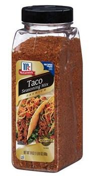 McCormick Premium Taco Seasoning Mix (24 oz.): $4.46 + FREE Shipping