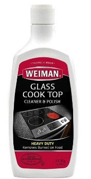 Weiman Glass Cooktop Heavy Duty Cleaner and Polish (20 oz.): $3.32 + FREE Shipping