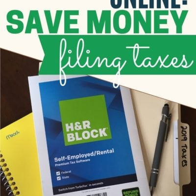 H&R Block Online: Save Money on Filing Your Taxes