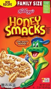 Printable Coupon: $0.50 off Kellogg's Honey Smacks Cereal + Walmart Deal
