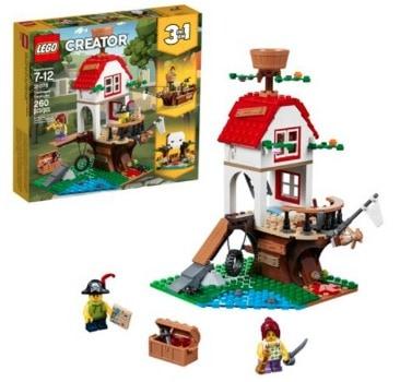 LEGO Creator Treehouse Treasures: $17.97 (40% off)