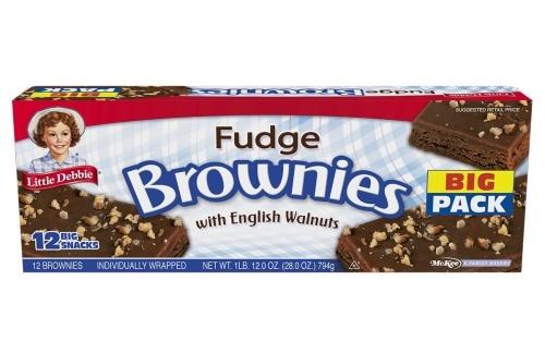 Printable Coupon: $0.55 off Little Debbie Fudge Brownies + Walmart Deal
