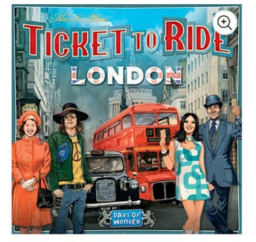 Ticket To Ride Game London: $9 (55% off)