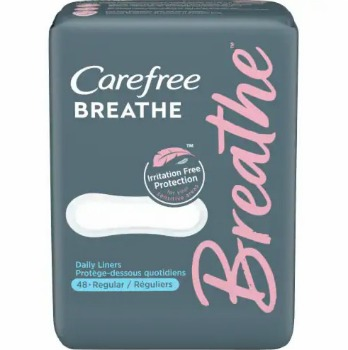 Printable Coupon: $1.50 off Carefree Breathe Product + Walmart Deal