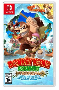 Donkey Kong Country Tropical Freeze Switch Game: $39.99 (33% off) + FREE Shipping