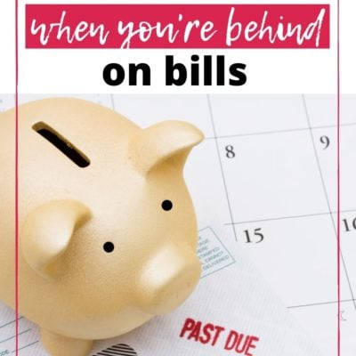 How to Budget When You're Behind on Bills