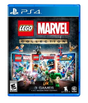 LEGO Marvel Collection Video Game: $14.99 (50% off) + FREE Shipping