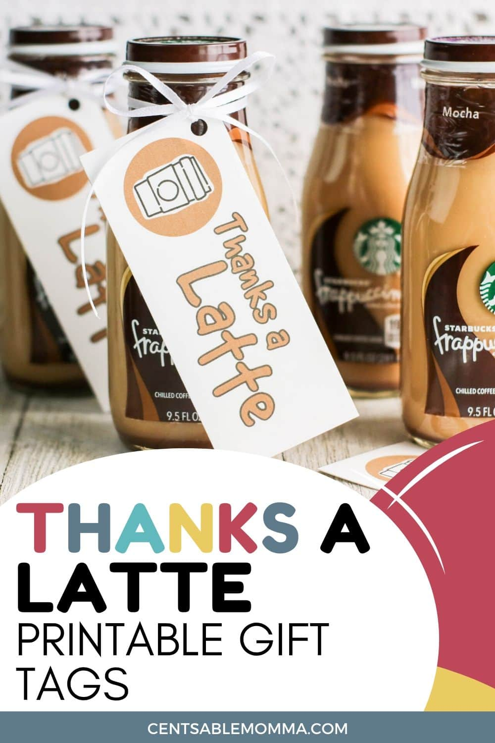 It is a picture of Thanks a Latte Free Printable pertaining to diy