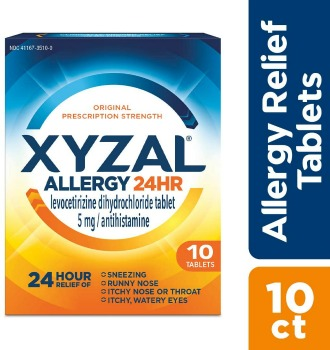 Printable Coupon: $4 off Xyzal Allergy + Walmart Deal