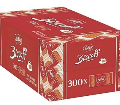 Lotus Biscoff European Biscuit Cookies (300 ct.): $18.53 + FREE Shipping
