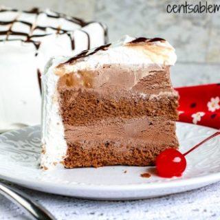 Easy Chocolate Ice Cream Cake