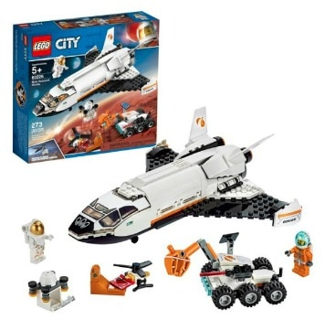 LEGO City Space Mars Research Shuttle Space Shuttle Building Kit: $31.99 (20% off)