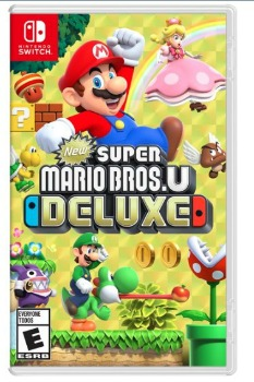 New Super Mario Bros. U Deluxe Switch Video Game: $39.99 (33% off) + FREE Shipping