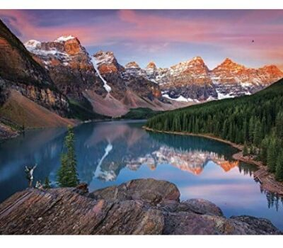 Buffalo Games Mountains On Fire 1000 Piece Jigsaw Puzzle: $9.97 (33% off)