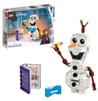 LEGO Disney Frozen II Olaf the Snowman Building Kit: $8.95 (40% off)