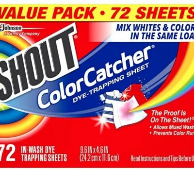 Shout Color Catcher Sheets for Laundry (72 ct.): $7.54 + FREE Shipping