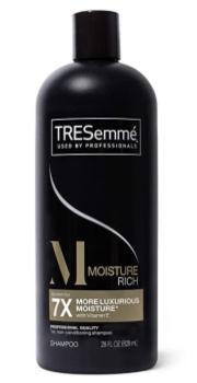 TRESemmé Moisturizing Shampoo (28 oz.): $2.54 + FREE Shipping