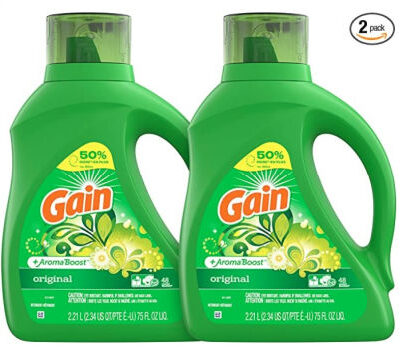Gain Liquid Liquid Laundry Detergent (75 oz.): $5.56 each + FREE Shipping