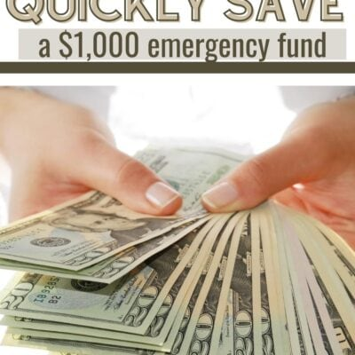 How to Quickly Save a $1,000 Emergency Fund