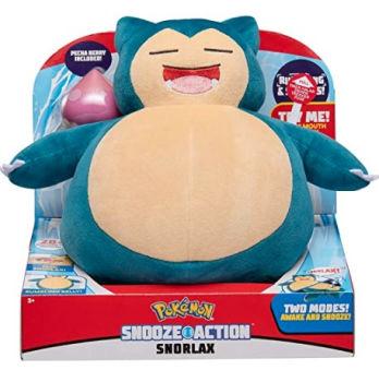 Pokemon Snooze Action Snorlax Plush: $19.99 (33% off)