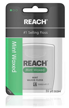 Reach Waxed Dental Floss (55 yds): $0.92 + FREE Shipping
