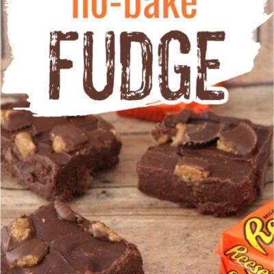 Reese's No Bake Fudge Recipe