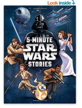 5-Minute Star Wars Stories Hardcover Book: $5.61 (57% off)