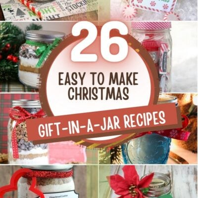 26 Easy to Make Christmas Gift-in-a-Jar Ideas