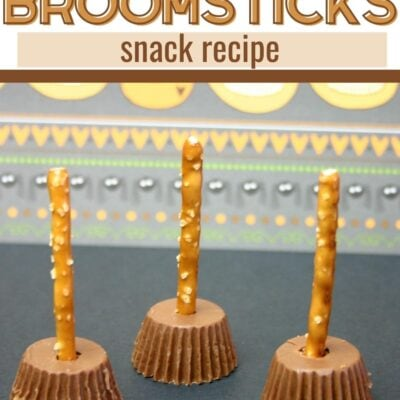 Witch's Broomsticks Snack