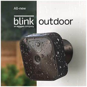 Blink Outdoor Smart Security Camera: $64.99 (35% off) + FREE Shipping
