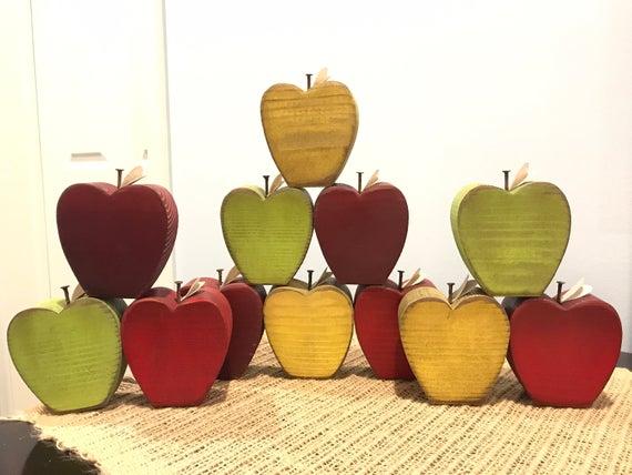 Fall apple decor
