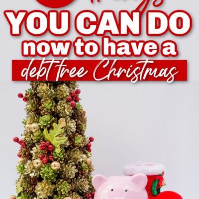 What Can You Do Now to Have a Debt Free Christmas