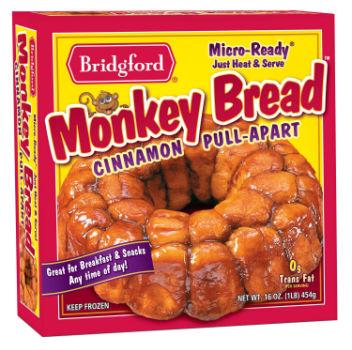 Printable Coupon: $1 off Bridgford Cinnamon Pull-Apart Monkey Bread + Walmart Deal