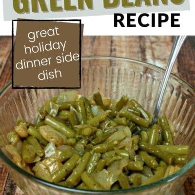 Dutch Green Beans Recipe