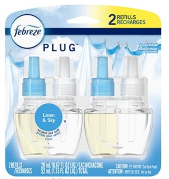 Febreze Plug In Scented Oil Refill (2 ct.): $PRICE + FREE Shipping