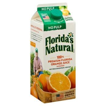 Printable Coupon: $1/2 Florida's Natural Orange Juice + Walmart Deal