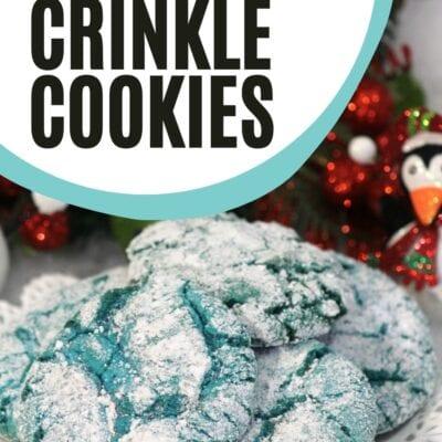 Frozen Crinkle Cookies Recipe