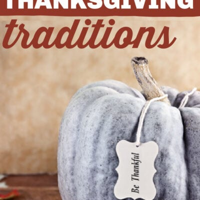Frugal Thanksgiving Traditions