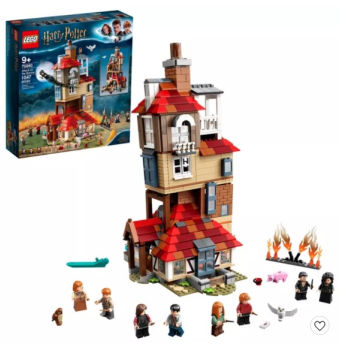 LEGO Harry Potter Attack on the Burrow Weasley's Family House: $79.99 + FREE Shipping