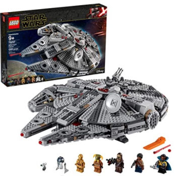 LEGO Star Wars: The Rise of Skywalker Millennium Falcon Building Kit Starship Model: $127.99 (20% off) + FREE Shipping