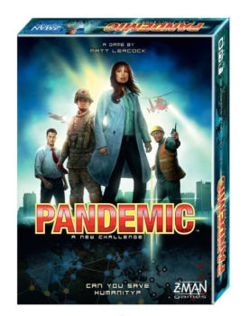 Pandemic Cooperative Board Game: $17.49 (61% off)