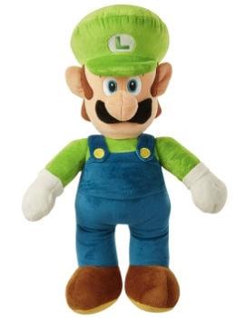 World of Nintendo Luigi Jumbo Plush: $14.99 (40% off)