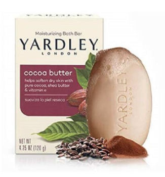 Yardley Pure Cocoa Butter & Vitamin E Bar Soap: $0.69 + FREE Shipping