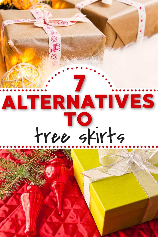 7 Alternatives To Christmas Tree Skirts Centsable Momma