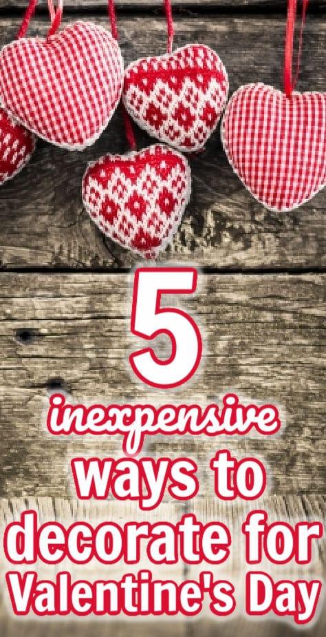 5 maneiras baratas de decorar para o dia dos namorados 5